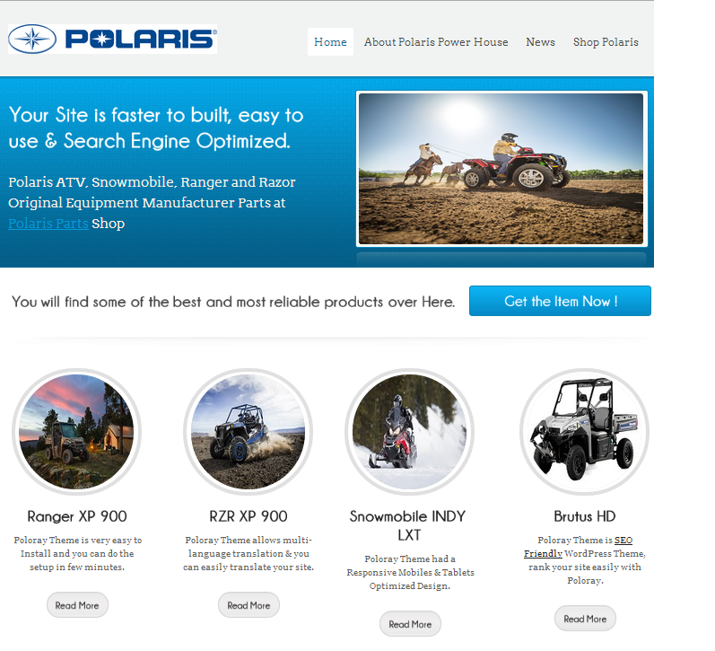 Polaris Parts Shop