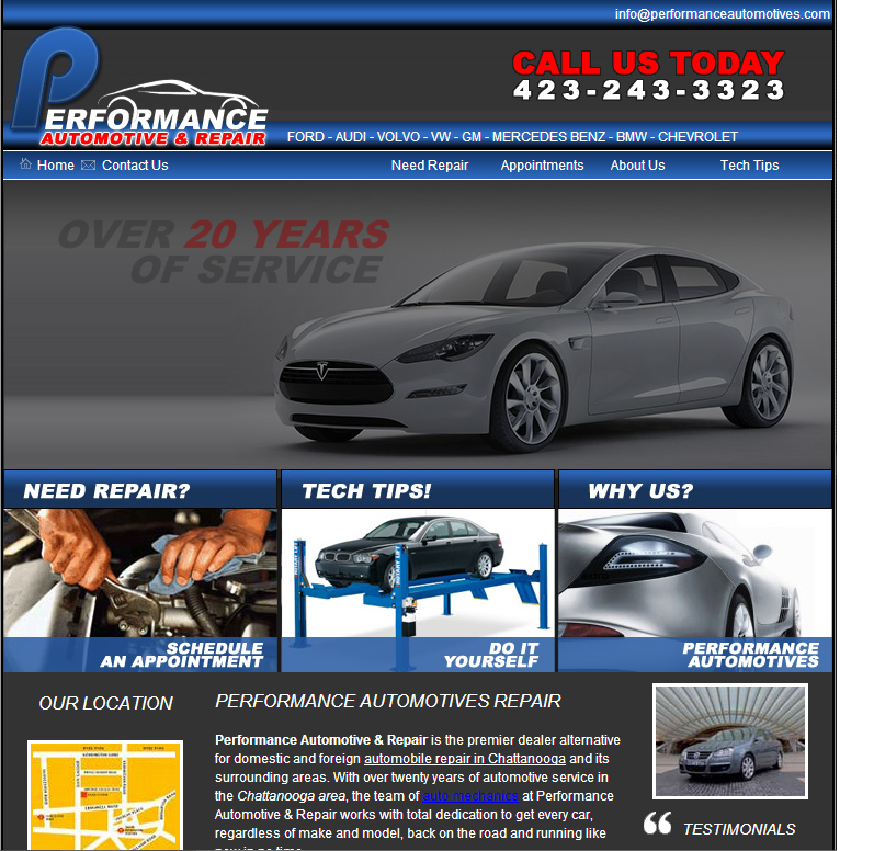 Performance Automotive and Repair